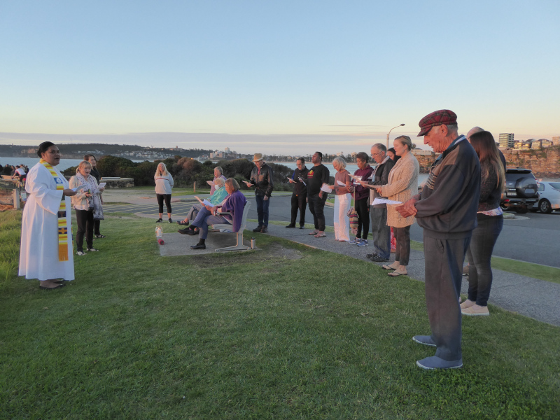 Easter Dawn Service at Freshwater Uniting Church